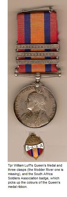 Trooper Luff's Medal