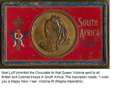 Queen Victoria's Chocolate gift to the troops